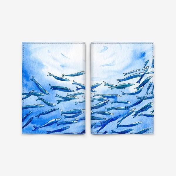 Обложка для паспорта «Под водой»