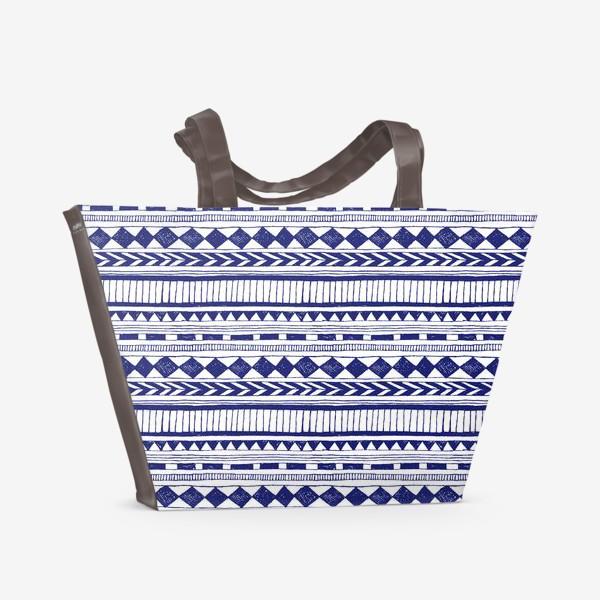 Пляжная сумка «Етно дудлы»