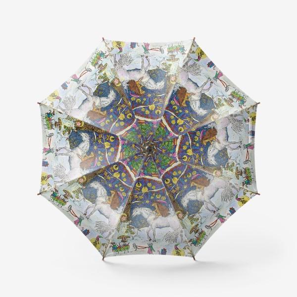 Зонт «Рождество в сказочном лесу»
