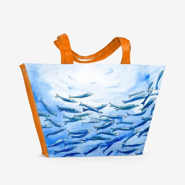 Пляжная сумка «Под водой»