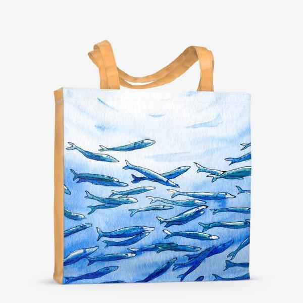 Сумка-шоппер «Под водой»