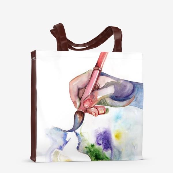 Сумка-шоппер «Рука творчества»
