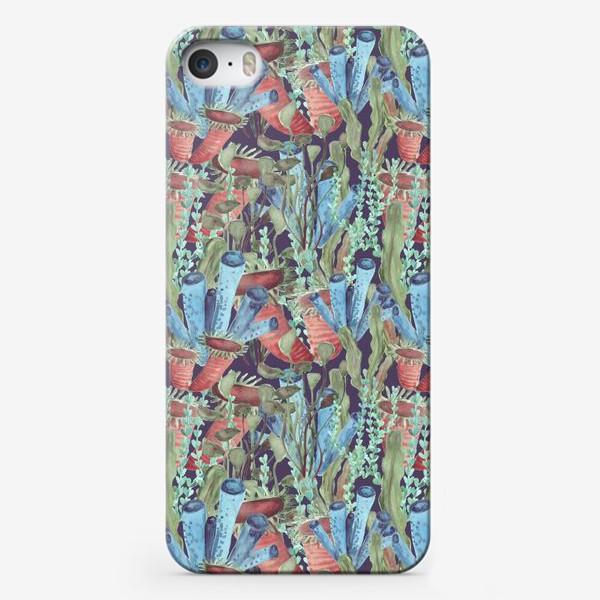 Чехол iPhone «Морской лес. Водоросли водоемов»