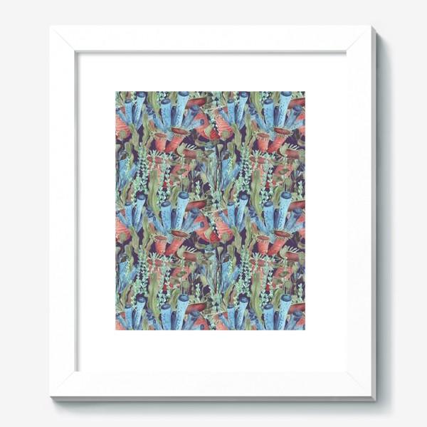 Картина «Морской лес. Водоросли водоемов»