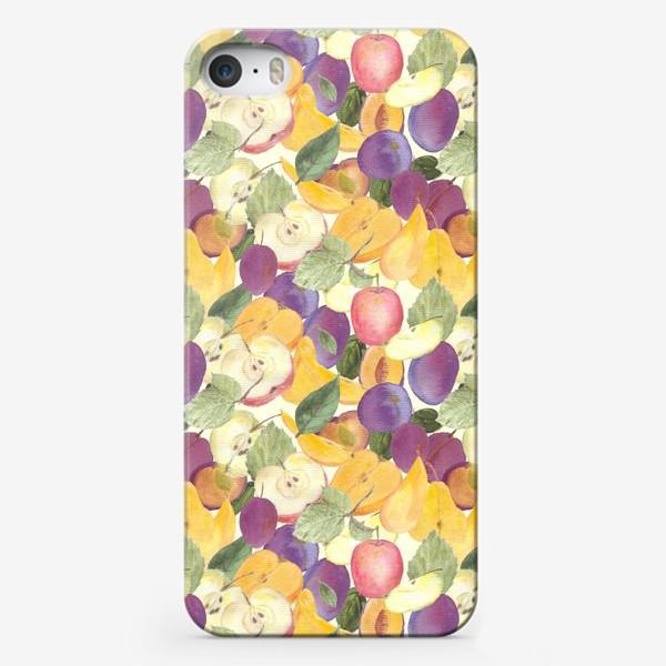 Чехол iPhone «Фруктовый лес. Урожай фруктов»