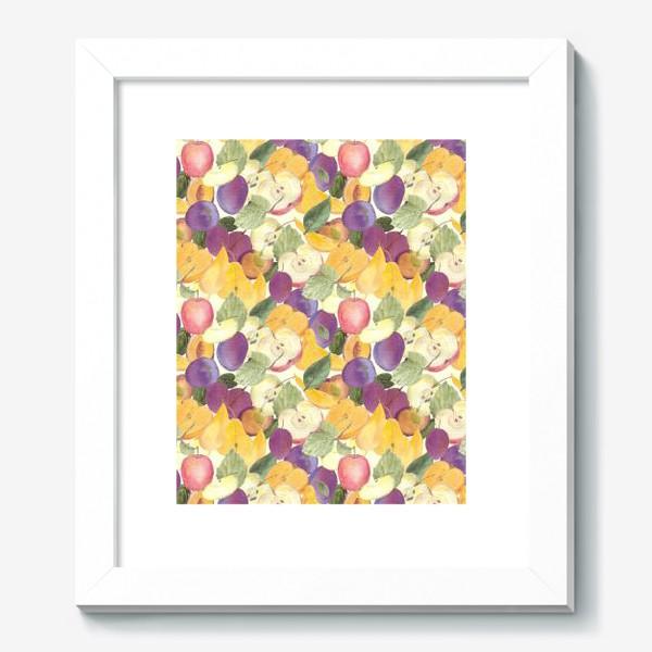 Картина «Фруктовый лес. Урожай фруктов»