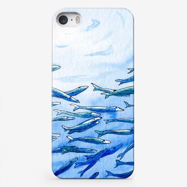 Чехол iPhone «Под водой»