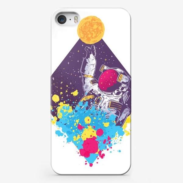 Чехол iPhone «Абстрактный астронавт»