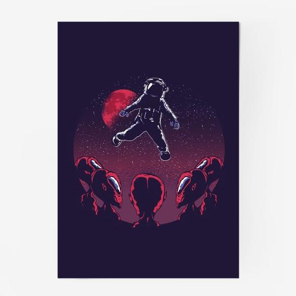 Постер «Астронавт пришелец»