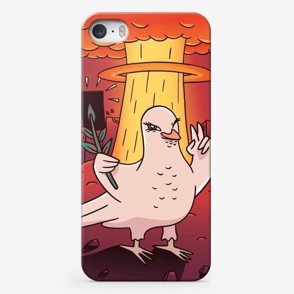 Чехол iPhone «Голубь Мира»