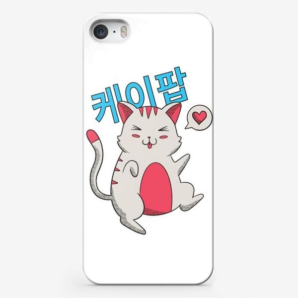 Чехол iPhone «K-POP Котик»