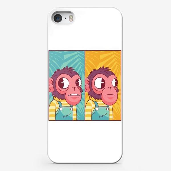 Чехол iPhone «Обезьянка из мема»
