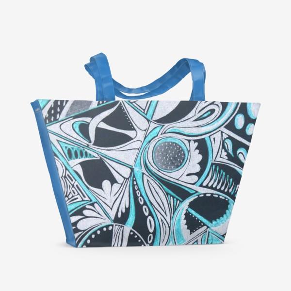 Пляжная сумка «Абстракция »