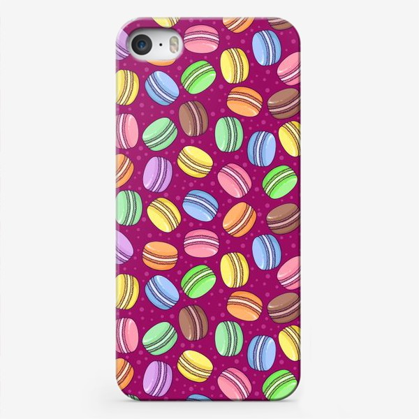 Чехол iPhone «Сладкие макаруны»