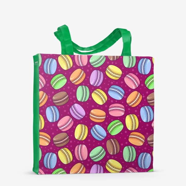 Сумка-шоппер «Сладкие макаруны»