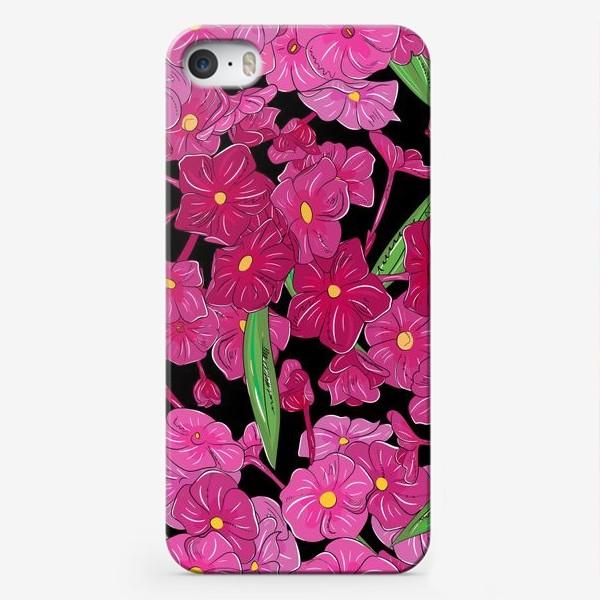 Чехол iPhone «цветы флоксы»