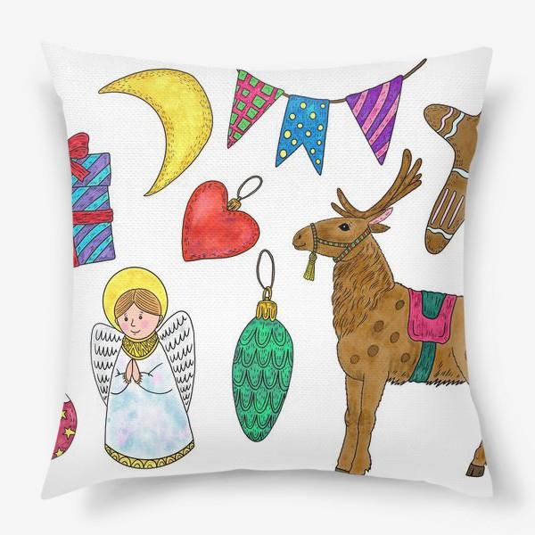 Подушка «Новый год»