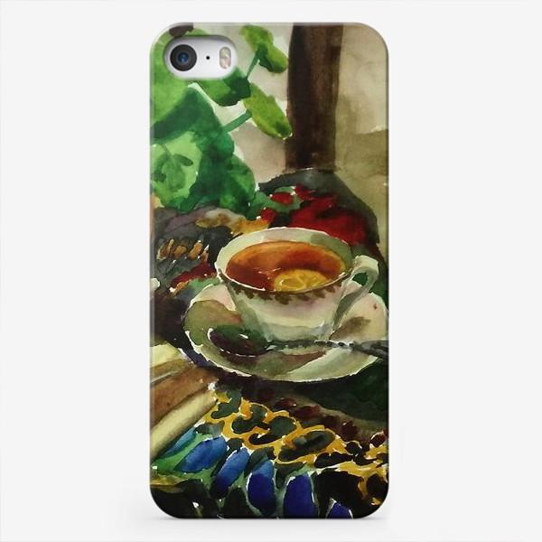Чехол iPhone «Чай»