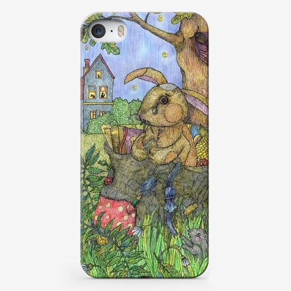 Чехол iPhone «Плюшевый кролик»