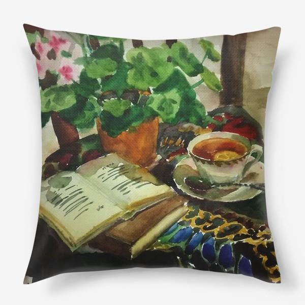 Подушка «Чай»