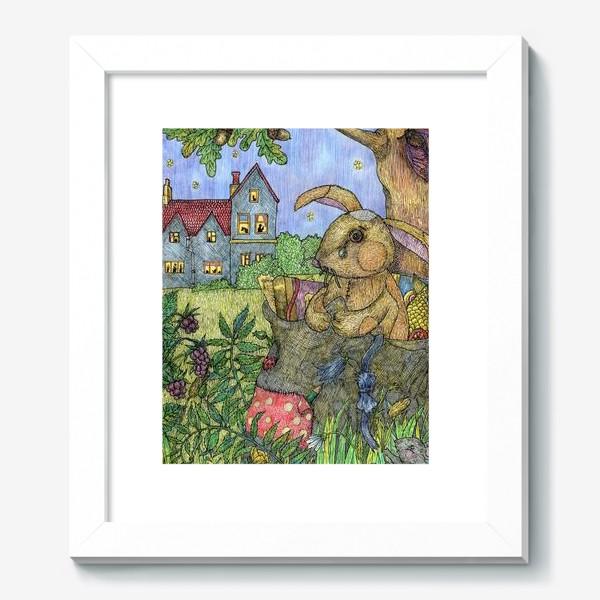 Картина «Плюшевый кролик»