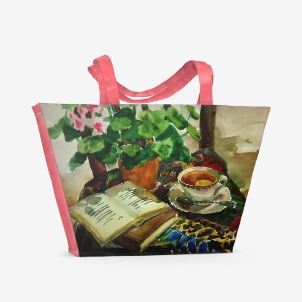 Пляжная сумка «Чай»