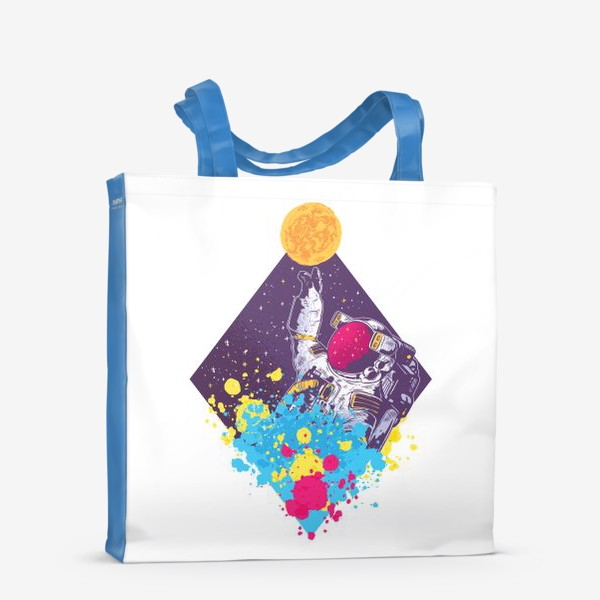Сумка-шоппер «Абстрактный астронавт»