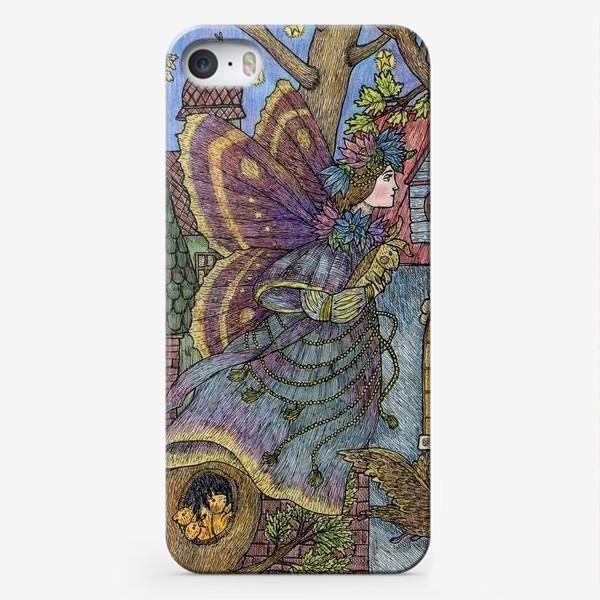 Чехол iPhone «Фея и плюшевый кролик»