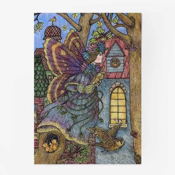 Постер «Фея и плюшевый кролик»