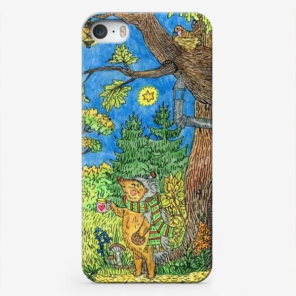 Чехол iPhone «Маленький ежик »