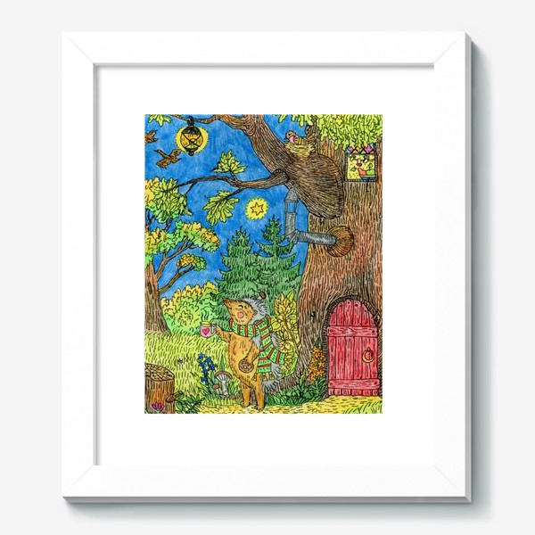 Картина «Маленький ежик »