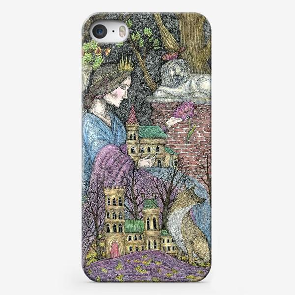 Чехол iPhone «Сказочная нимфа»