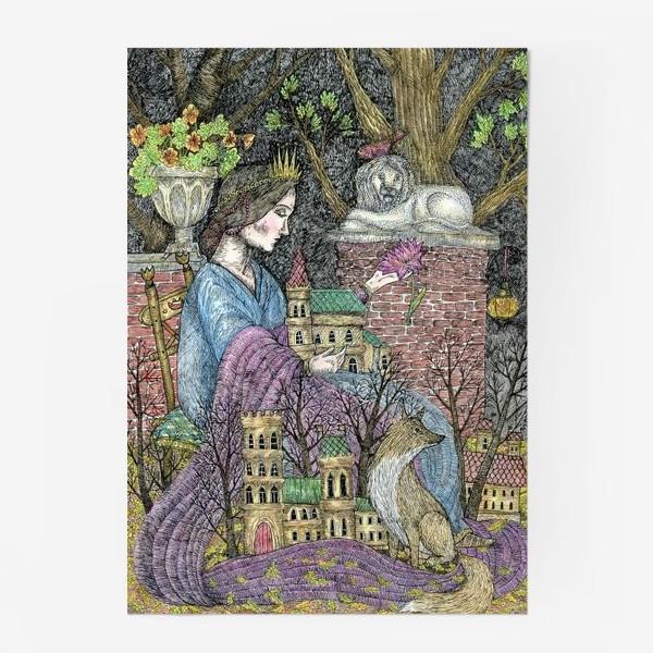 Постер «Сказочная нимфа»