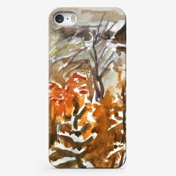 Чехол iPhone «Зима»