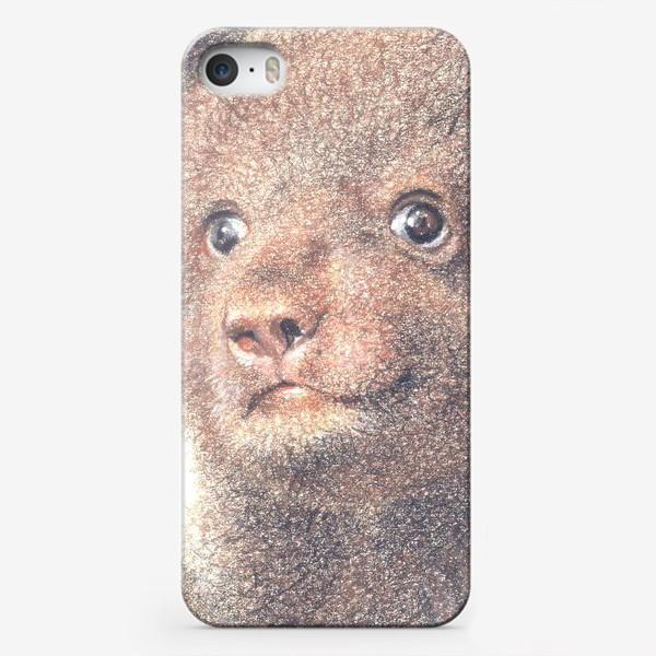 Чехол iPhone «Миша,медвежонок»