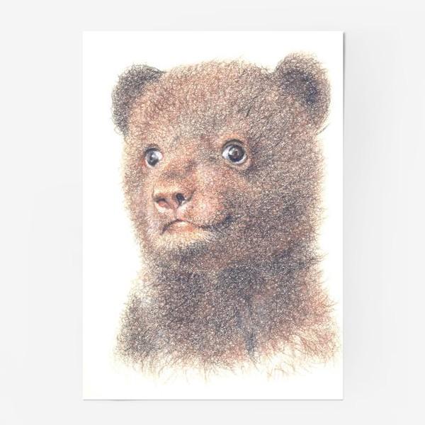 Постер «Миша,медвежонок»