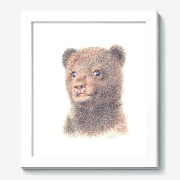 Картина «Миша,медвежонок»