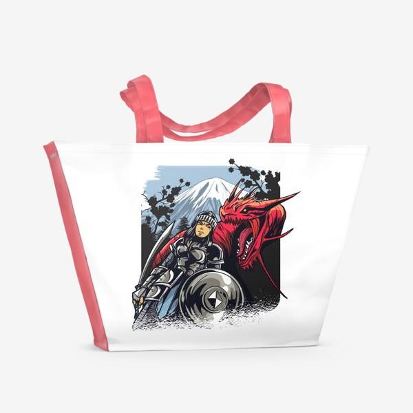Пляжная сумка «Принцесса викингов»