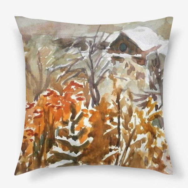 Подушка «Зима»