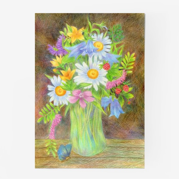 Постер «Букет полевых цветов »