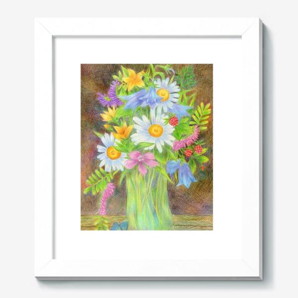 Картина «Букет полевых цветов »