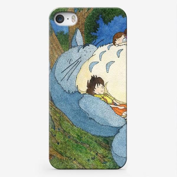 Чехол iPhone «Мой сосед Тоторо»