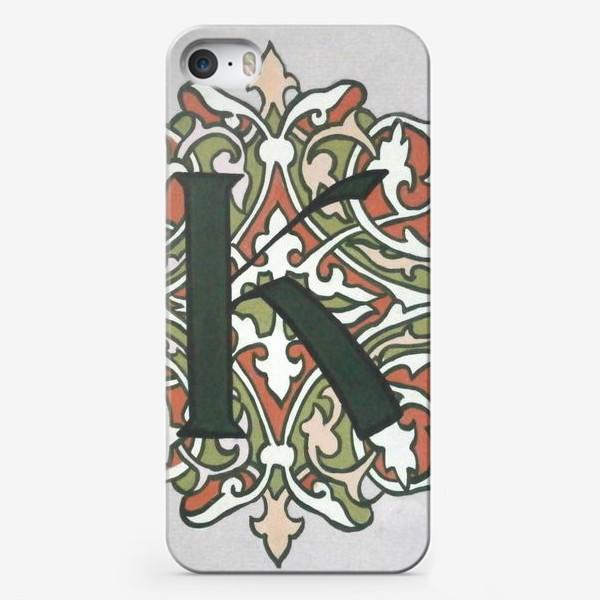 Чехол iPhone «К»