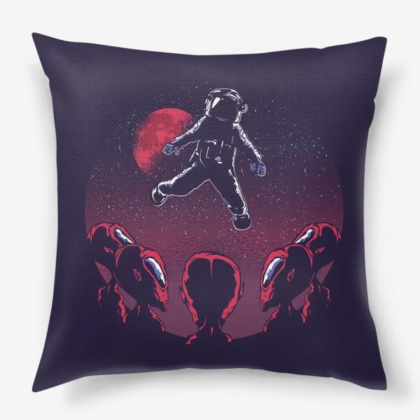 Подушка «Астронавт пришелец»