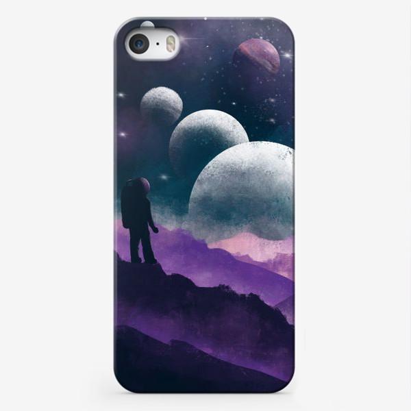Чехол iPhone «ГДЕ-ТО ВО ВСЕЛЕННОЙ»