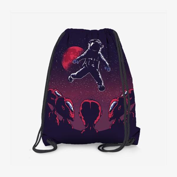 Рюкзак «Астронавт пришелец»
