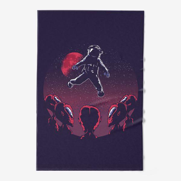 Полотенце «Астронавт пришелец»