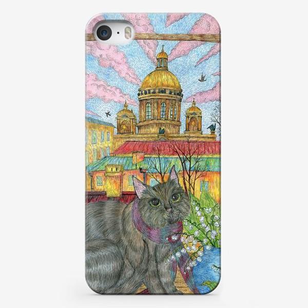 Чехол iPhone «Весна в Петербурге»