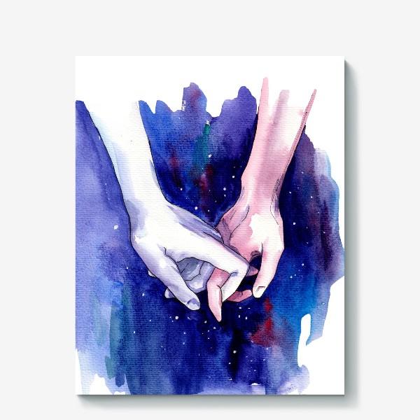 Холст «В космосе»