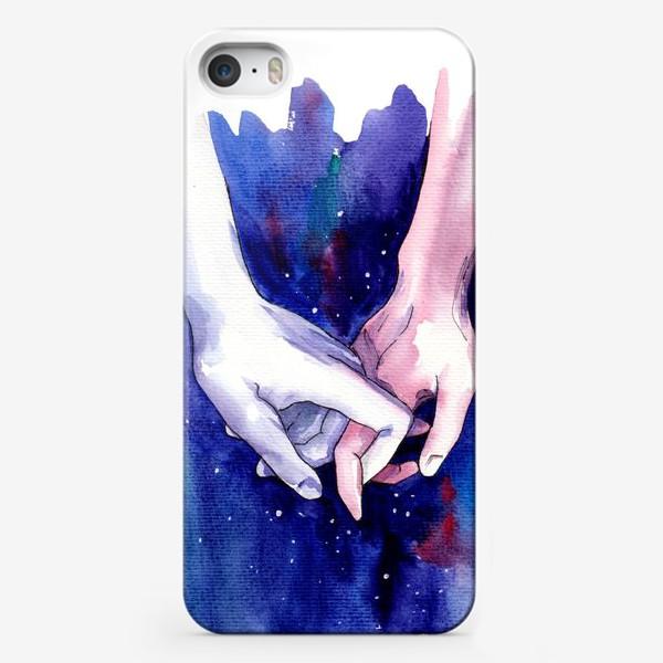 Чехол iPhone «В космосе»